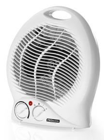 PROlectrix Portable Fan Assisted Heater with Cool Air Function, 1000/2000W, White