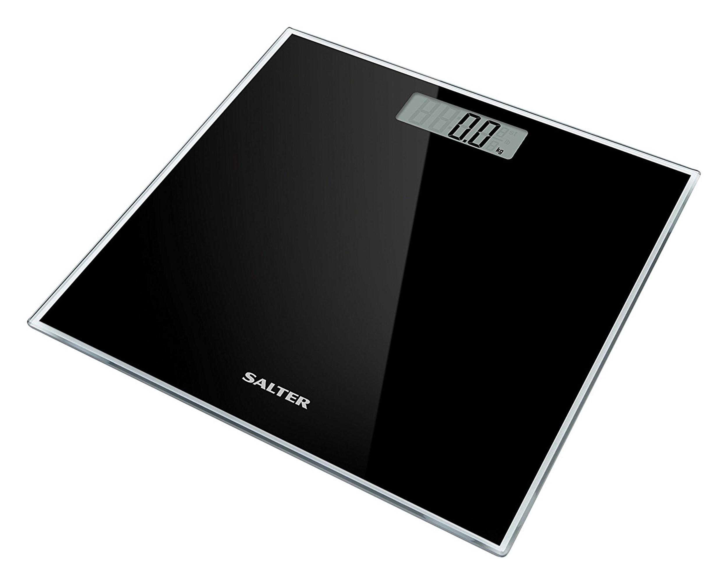 Salter Gl Electronic Digital Bathroom Scale Black