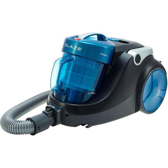 Hoover Blaze Pets Compact Bagless Cylinder Vacuum Cleaner, 700W, 1.5 Litre, Black/Blue