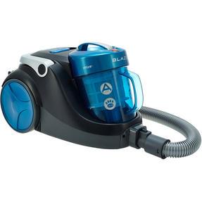 Hoover Blaze Pets Compact Bagless Cylinder Vacuum Cleaner, 700W, 1.5 Litre, Black/Blue Thumbnail 2