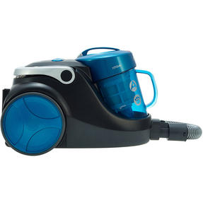 Hoover Blaze Pets Compact Bagless Cylinder Vacuum Cleaner, 700W, 1.5 Litre, Black/Blue Thumbnail 3