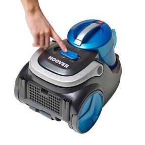 Hoover Blaze Pets Compact Bagless Cylinder Vacuum Cleaner, 700W, 1.5 Litre, Black/Blue Thumbnail 4