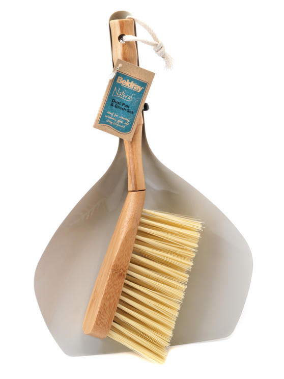 Beldray Bamboo Dustpan and Brush Set Thumbnail 5