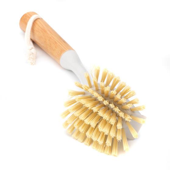 Beldray LA039958 Bamboo Dish Brush, 28cm Thumbnail 2