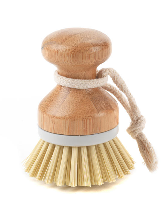 Beldray Bamboo Dish Brush, 10cm Thumbnail 1