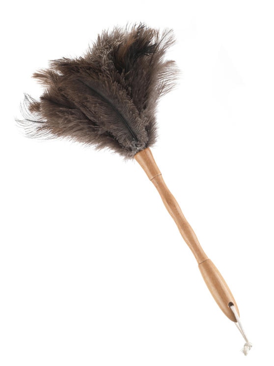 Beldray Bamboo Ostrich Feather Duster, 45cm