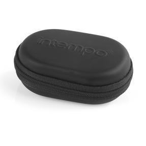 Intempo Travel Earphones with Carry Case, Black Thumbnail 4