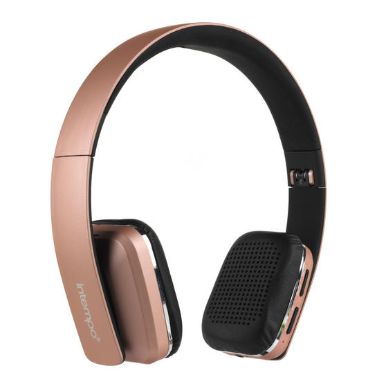 Intempo Bluetooth Wireless Headphones With Microphone