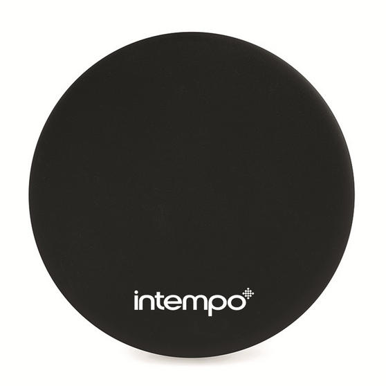 Intempo Slimline Power Source for Smartphones with Mirror, 2000 mAh, Black