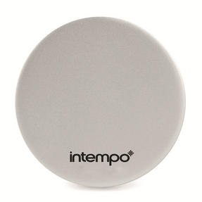 Intempo Slimline Power Source for Smartphones with Mirror, 2000 mAh, Silver