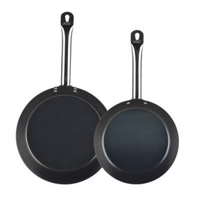 Russell Hobbs Infinity Set of 2 Frying Pans, 24/28cm, Black Thumbnail 2