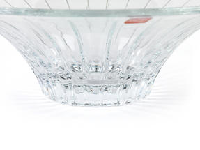 RCR Timeless Crystal Glass Centrepiece Bowl and Vase Set Thumbnail 5