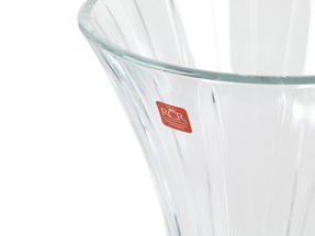 RCR Timeless Crystal Glass Centrepiece Bowl and Vase Set Thumbnail 3
