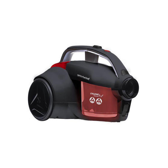 Hoover Whirlwind Cylinder Vacuum Cleaner, 1.2 Litre, 700W, RedGrey