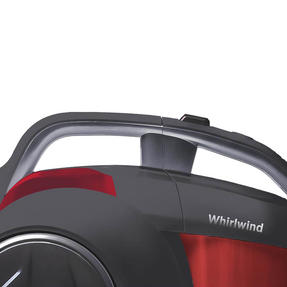 Hoover Whirlwind Cylinder Vacuum Cleaner, 1.2 Litre, 700W, Red/Grey Thumbnail 4