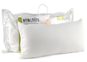 HoMedics MFHST85472 Traditional Memory Foam Pillow, 69 x 37 cm Thumbnail 3