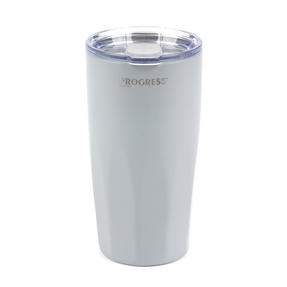 Progress BW05855S Thermal Insulated Travel Cup Tumbler with Lid, 550 ml, Stainless Steel, Grey Thumbnail 2