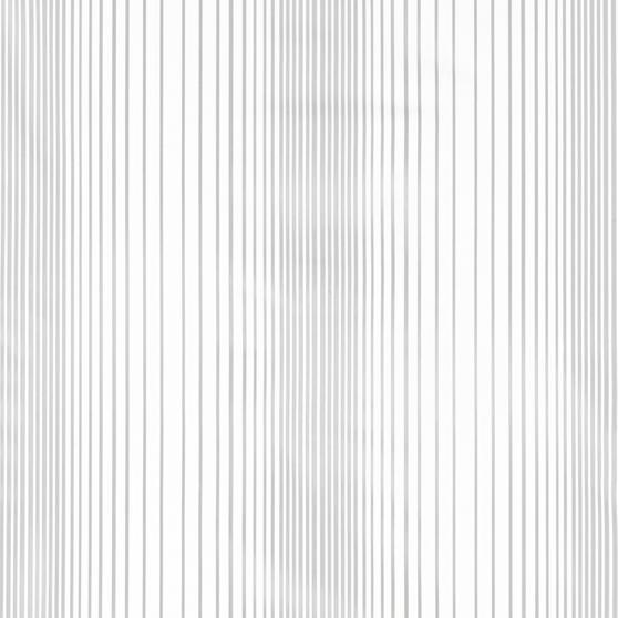 Beldray Boston Striped Shower Curtain with Hooks, 180 x 180cm, PEVA, White Thumbnail 3