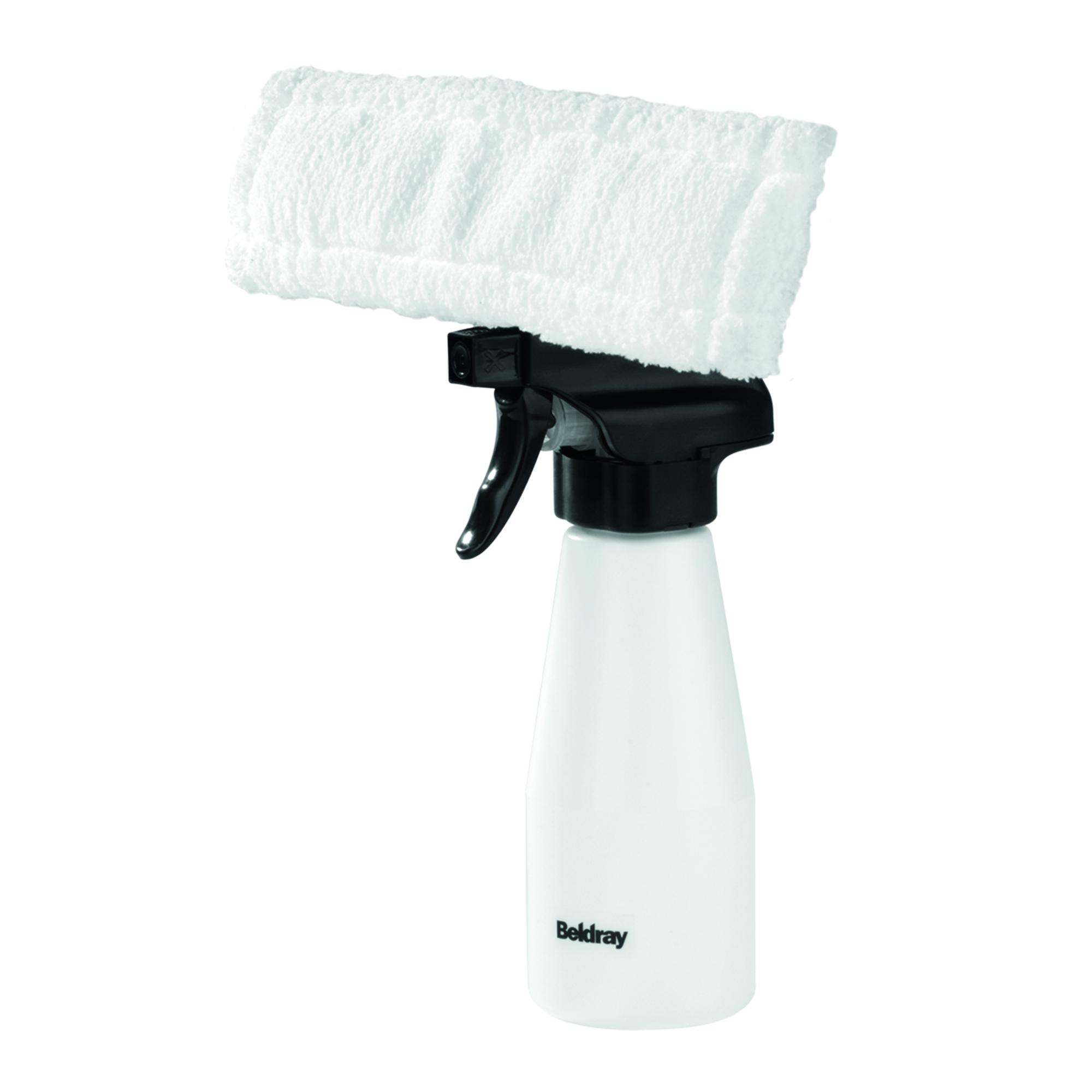 Beldray BEL0537 Rechargeable Window Vacuum Cleaner, Orange/White Thumbnail 5