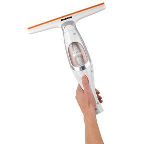 Beldray BEL0537 Rechargeable Window Vacuum Cleaner, Orange/White Thumbnail 4