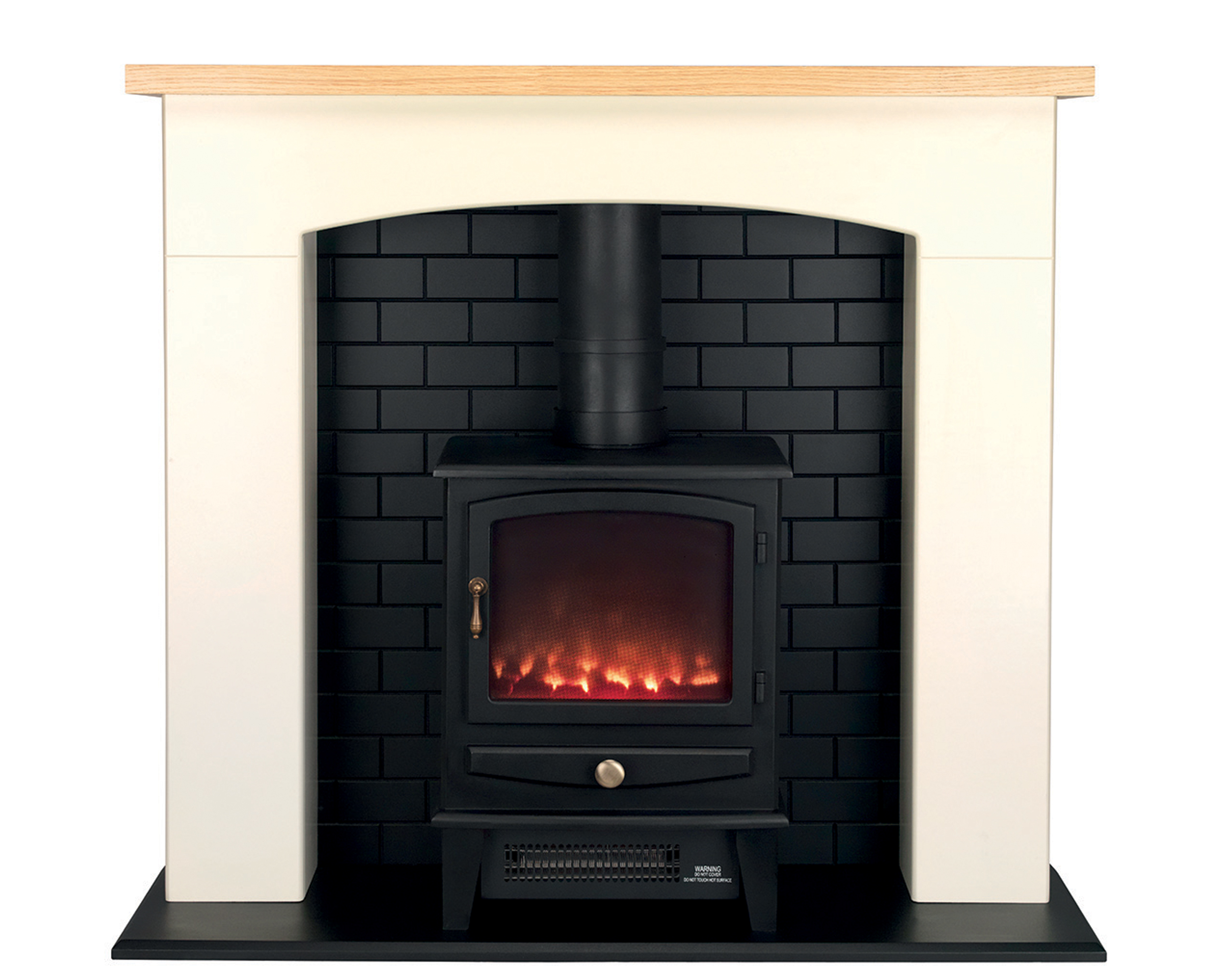 beldray millom stove suite with fire surround and led. Black Bedroom Furniture Sets. Home Design Ideas