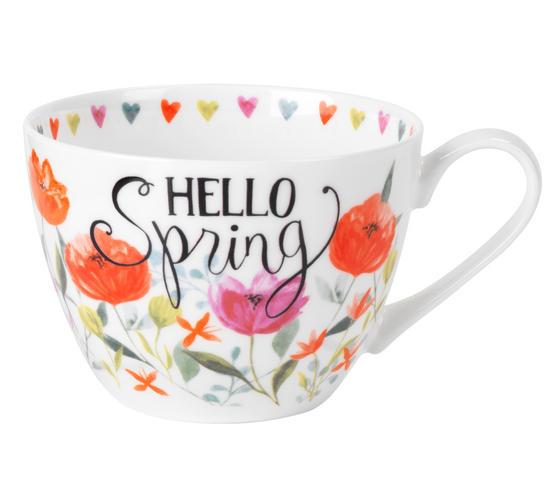 Portobello CM05206 Hello Spring Wilmslow Bone China Mug