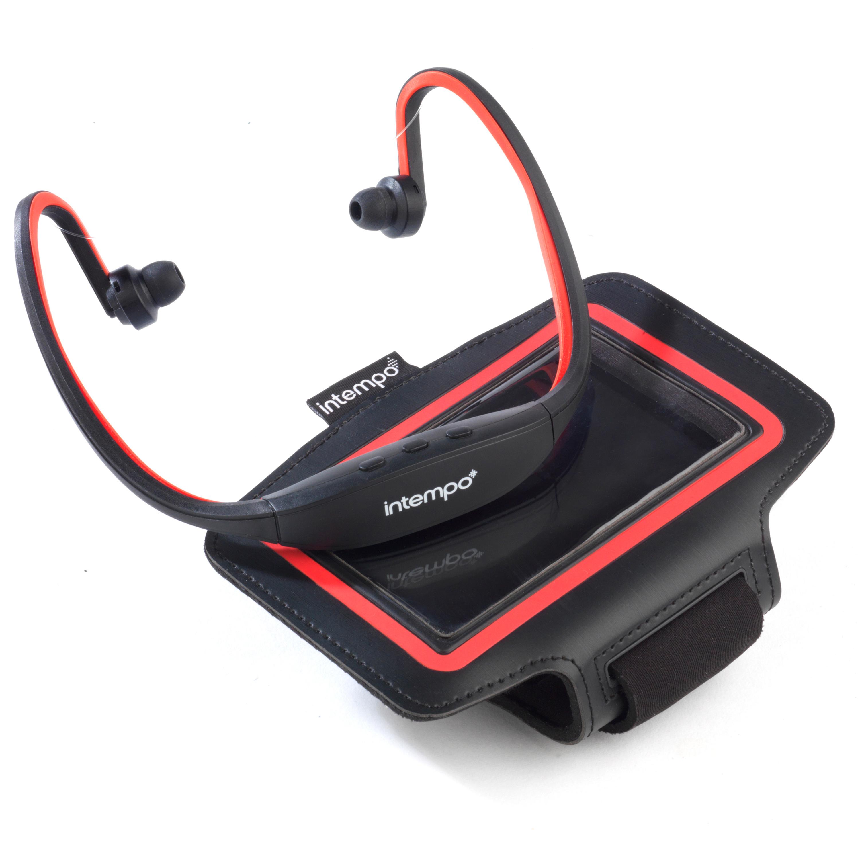 Wireless workout earphones bluetooth - bluetooth earphones red