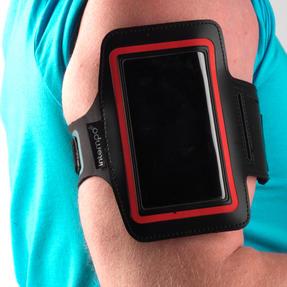 Intempo EE1784RBSTK Bluetooth Wireless Sports Earphones Running Set, Black/Red Thumbnail 2