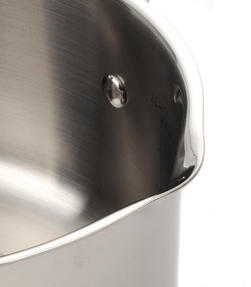 Thomas Rosenthal Cook & Pour Casserole Pot with Glass Lid, 20cm, 2.8 Litre, Stainless Steel Thumbnail 7