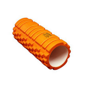 Phoenix Fitness Deep Tissue Massage Roller, EVA Foam, Orange Thumbnail 1