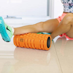 Phoenix Fitness Deep Tissue Massage Roller, EVA Foam, Orange Thumbnail 2