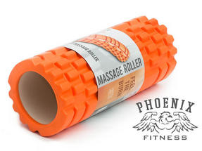 Phoenix Fitness Deep Tissue Massage Roller, EVA Foam, Orange Thumbnail 3