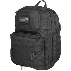 Viper Tactical Ranger Pack Backpack Molle Rucksack Airsoft Camping, 36.5 Litre, Black