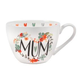 Portobello CM05208MTL Floral Mum Wilmslow Bone China Mug Thumbnail 1