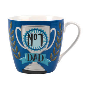 Cambridge CM05210 Number 1 Dad Fine China Mug Thumbnail 1