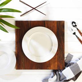 Alessi 1110301 La Bella Tavola Porcelain Dinner Plates, 27 cm, Off-White, Set of 2 Thumbnail 8