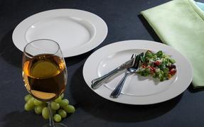Alessi 1110301 La Bella Tavola Porcelain Dinner Plates, 27 cm, Off-White, Set of 2 Thumbnail 9