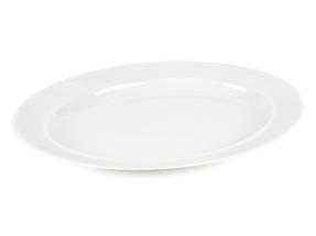 Alessi La Bella Tavola Porcelain Serving Platter, 36cm Thumbnail 1