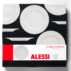 Alessi La Bella Tavola Porcelain Dinner Plates, 27cm, Set of 2 Thumbnail 6