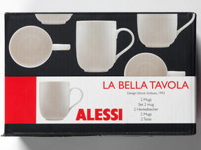 Alessi La Bella Tavola Porcelain Mugs, Set of 2 Thumbnail 4