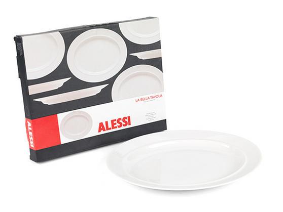 Alessi la bella tavola porcelain serving platter 36cm - Alessi la bella tavola ...