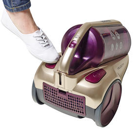 Hoover RE71VE20001 Velocity Bagless Cylinder Vacuum Cleaner, 2.5 Litre, 700 W, Purple and Champagne Thumbnail 8