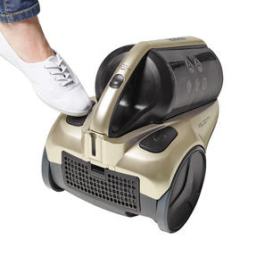 Hoover RE71VE25001 Velocity Bagless Cylinder Vacuum Cleaner, 2.5 Litre, 700 W, Black and Champagne Thumbnail 7