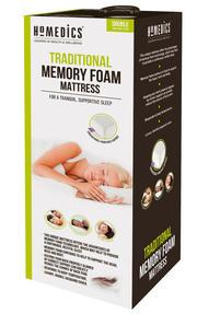 HoMedics MFHST92319 Traditional Memory Foam Mattress, Double Thumbnail 2