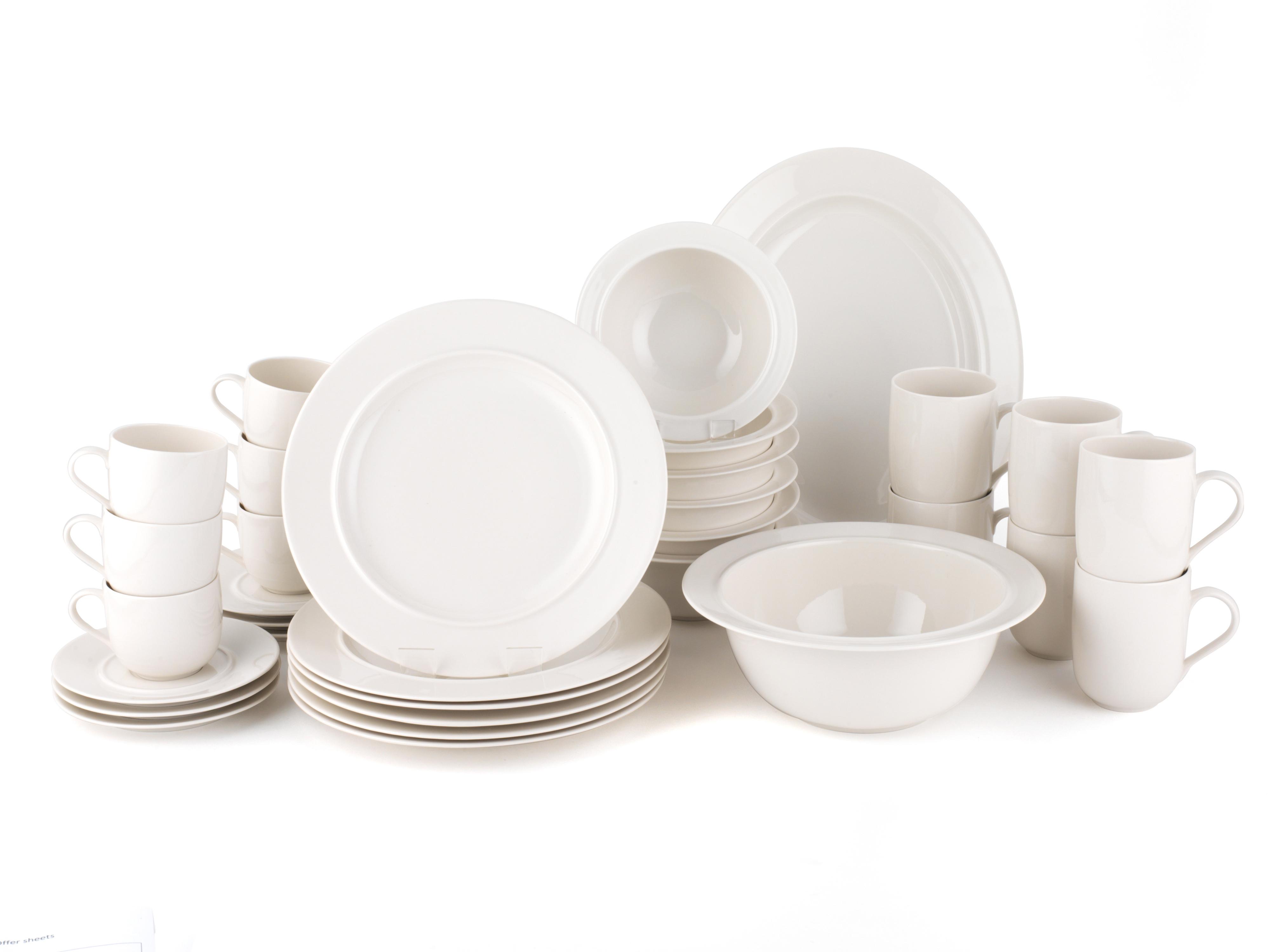 Alessi la bella tavola porcelain 6 place setting dining - Alessi dinnerware sets ...