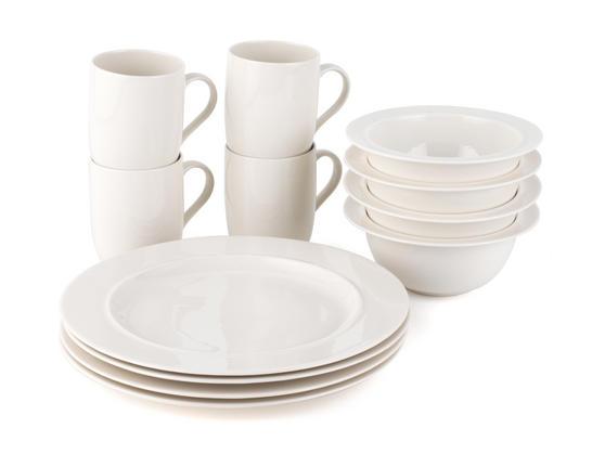 Alessi La Bella Tavola Porcelain 4-Place Setting Dining Set | Plates/Sets | No1Brands4You  sc 1 st  No1Brands4You & Alessi La Bella Tavola Porcelain 4-Place Setting Dining Set | Plates ...