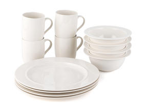 Alessi La Bella Tavola Porcelain 4-Place Setting Dining Set Thumbnail 2