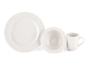 Alessi La Bella Tavola Porcelain 4-Place Setting Dining Set Thumbnail 5