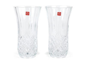 RCR Opera Crystal Glass Vase, 190 ml, Set of 2 Thumbnail 1