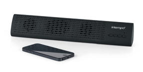 Intempo Mini Bluetooth Sound Bar, Black Thumbnail 3